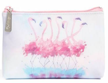 Catseye London Small Flamingo Zip Pouch