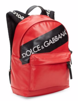 Dolce & Gabbana Zaino Backpack in Red