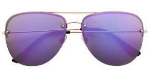 H&M Purple Sunglasses.