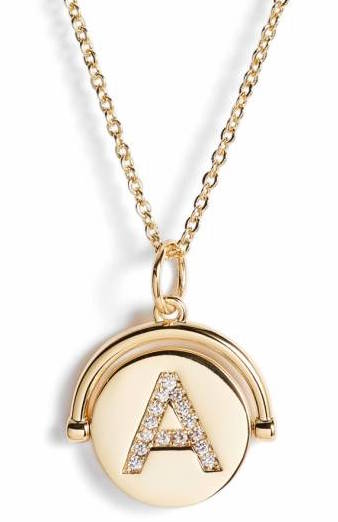 Love Letters Gold Initial Necklace