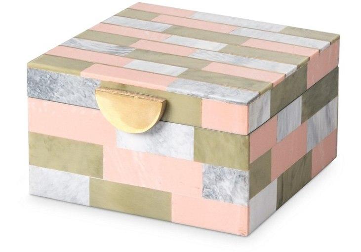 Oliver Bonas Oliver Bonas Modena Small Jewellery Box, size Small