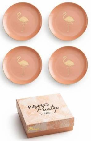 Rosanna Flamingo Appetizer Plates