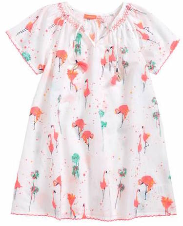 Sunuva Flamingo Cover-Up Dress