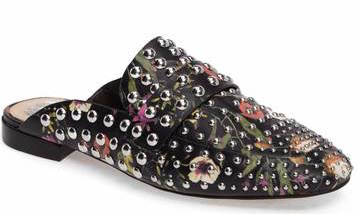 Vince Camuto Studded Floral Mule