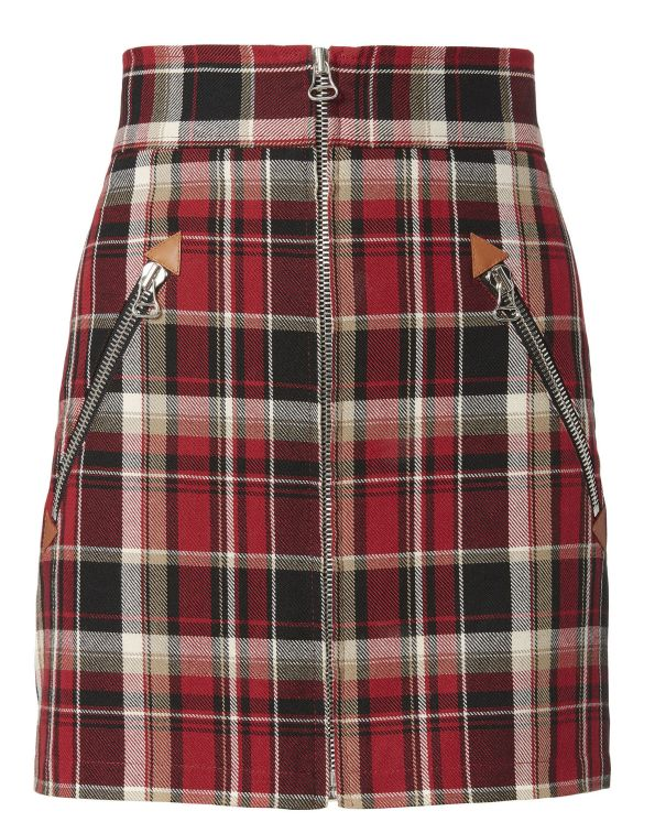 Rag & Bone Leah Plaid Mini Skirt