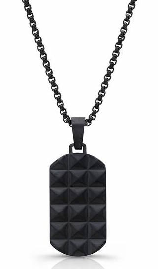 Room 101 Punk Dog Tag Necklace